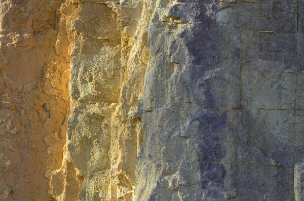 Pastellfarben: Die geringe Intensität der Pastellfarben mindert mögliche Farbdissonanzen (Ocre Pits, Australien).