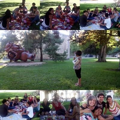 Quedada Rebirthing en Pamplona, agosto 2014, mosaico de fotos