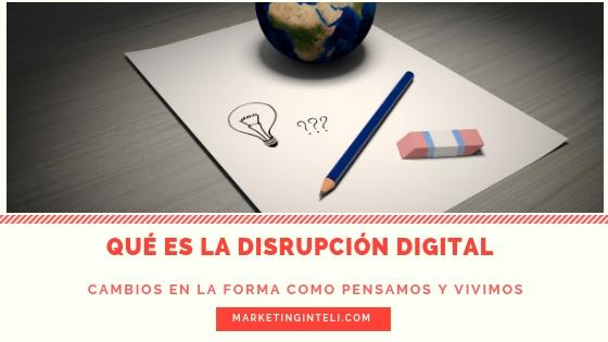Disrupción en marketing