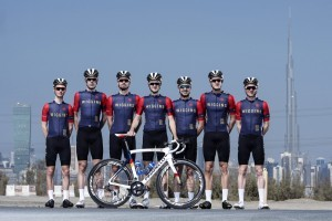 Team Wiggins in Dubai