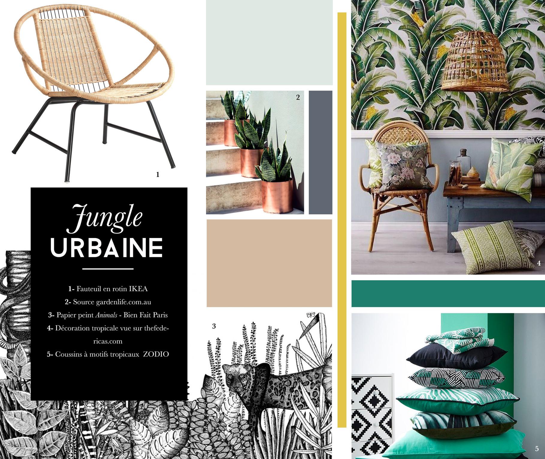 Des Int Rieurs Exotiques La Tendance Urban Jungle Site De