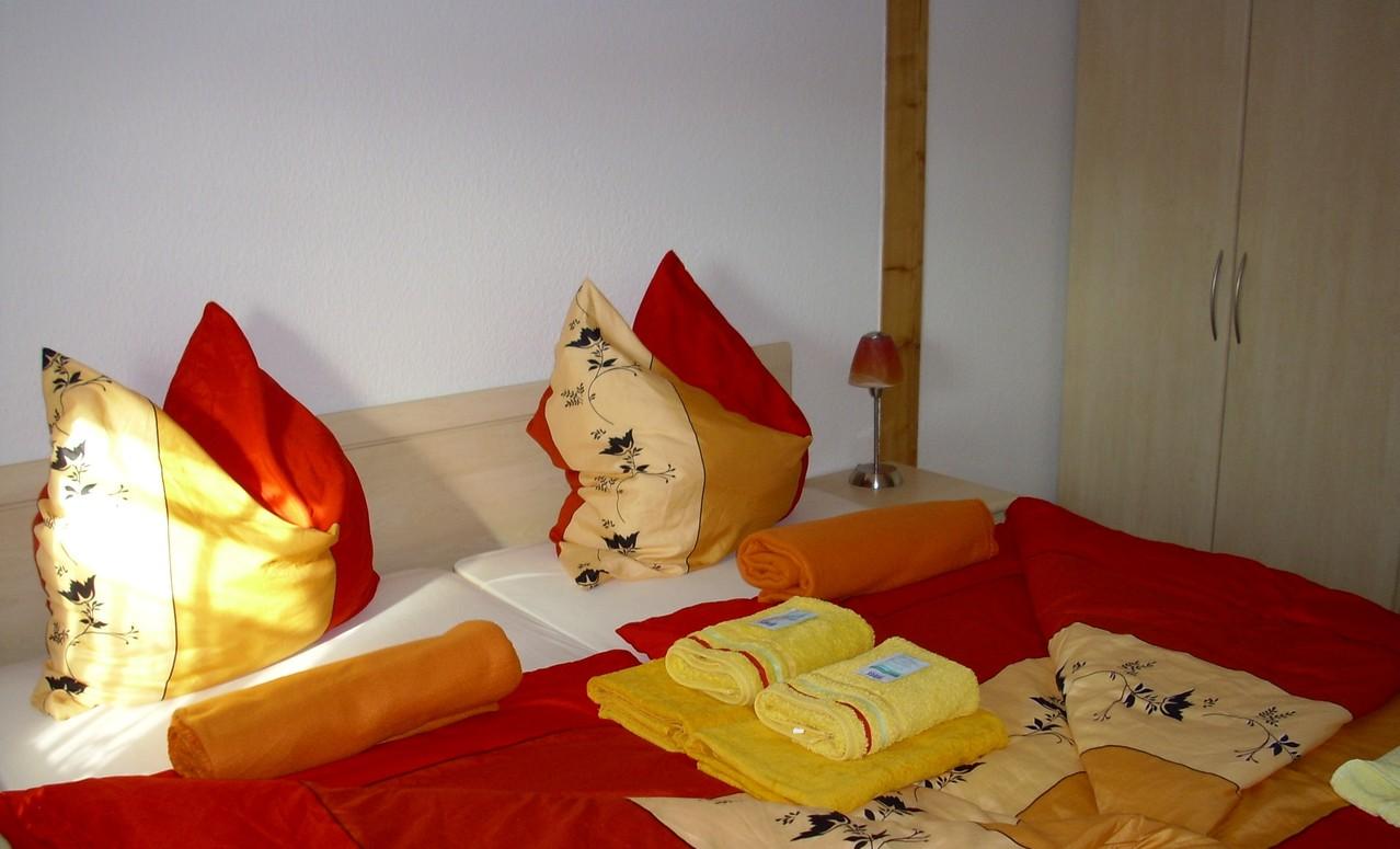 FW 1, Volksgut, Doppelbettzimmer Sächsische Schweiz