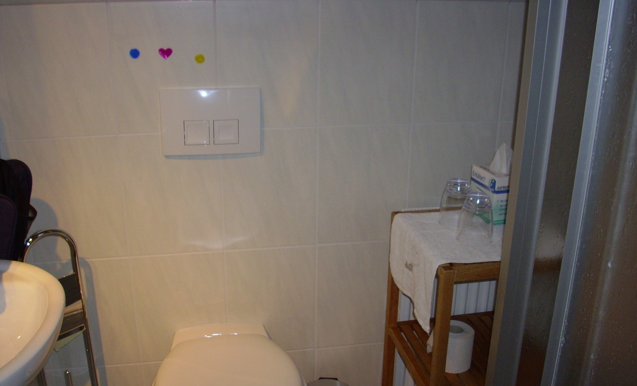 Zweibettzimmer, Bad/ Dusche/ WC