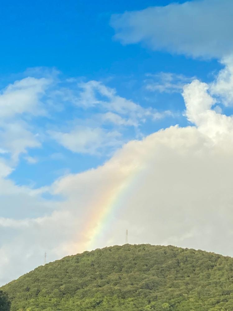 ハッピーをくれる虹