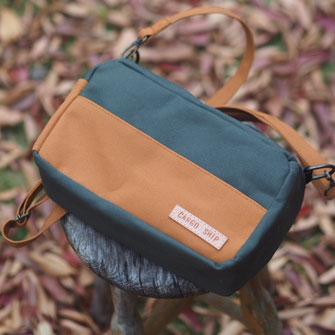秋色のお財布ショルダー