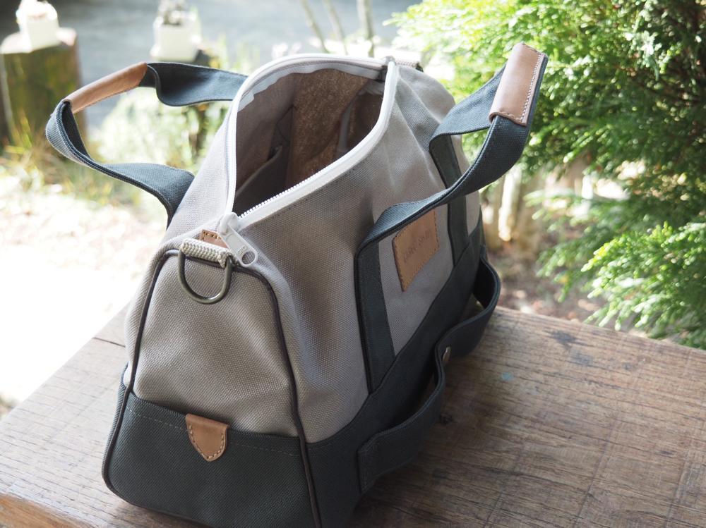 自分色の旅行バッグ