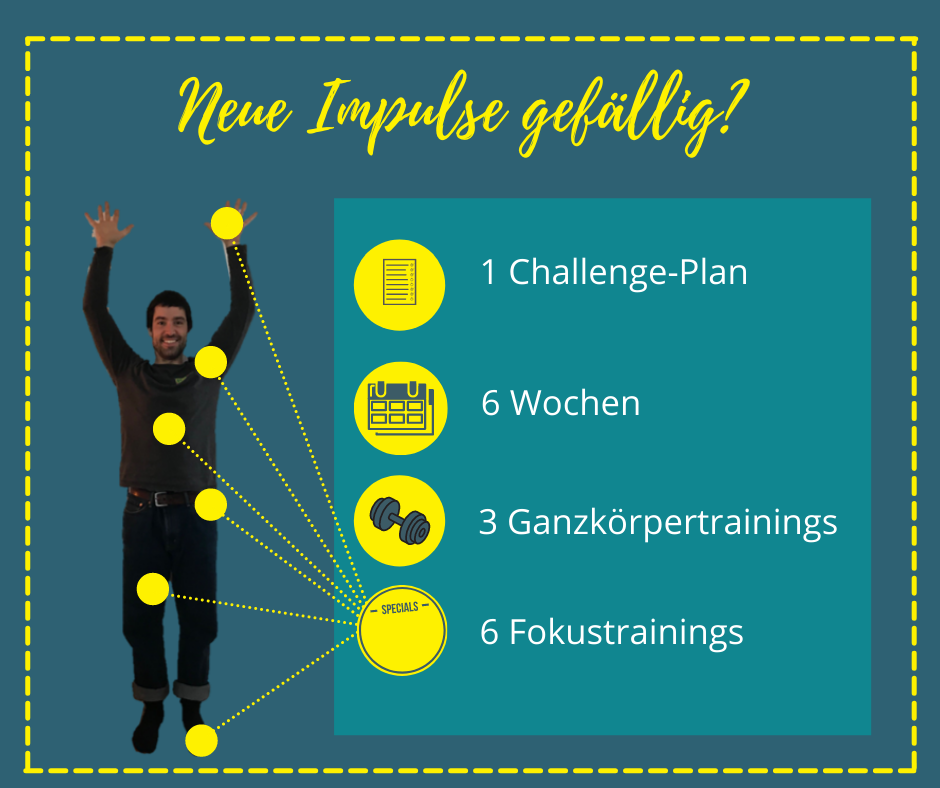 Challenge Dich selbst!