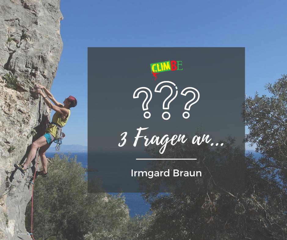 3 Fragen an... Irmgard Braun