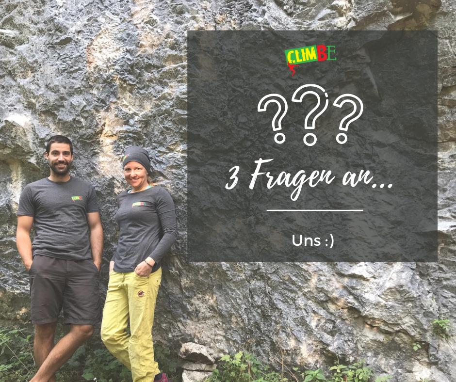 3 Fragen an... uns ;)