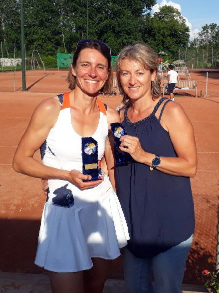 Isabelle Pointu et Edith Dartiguenave