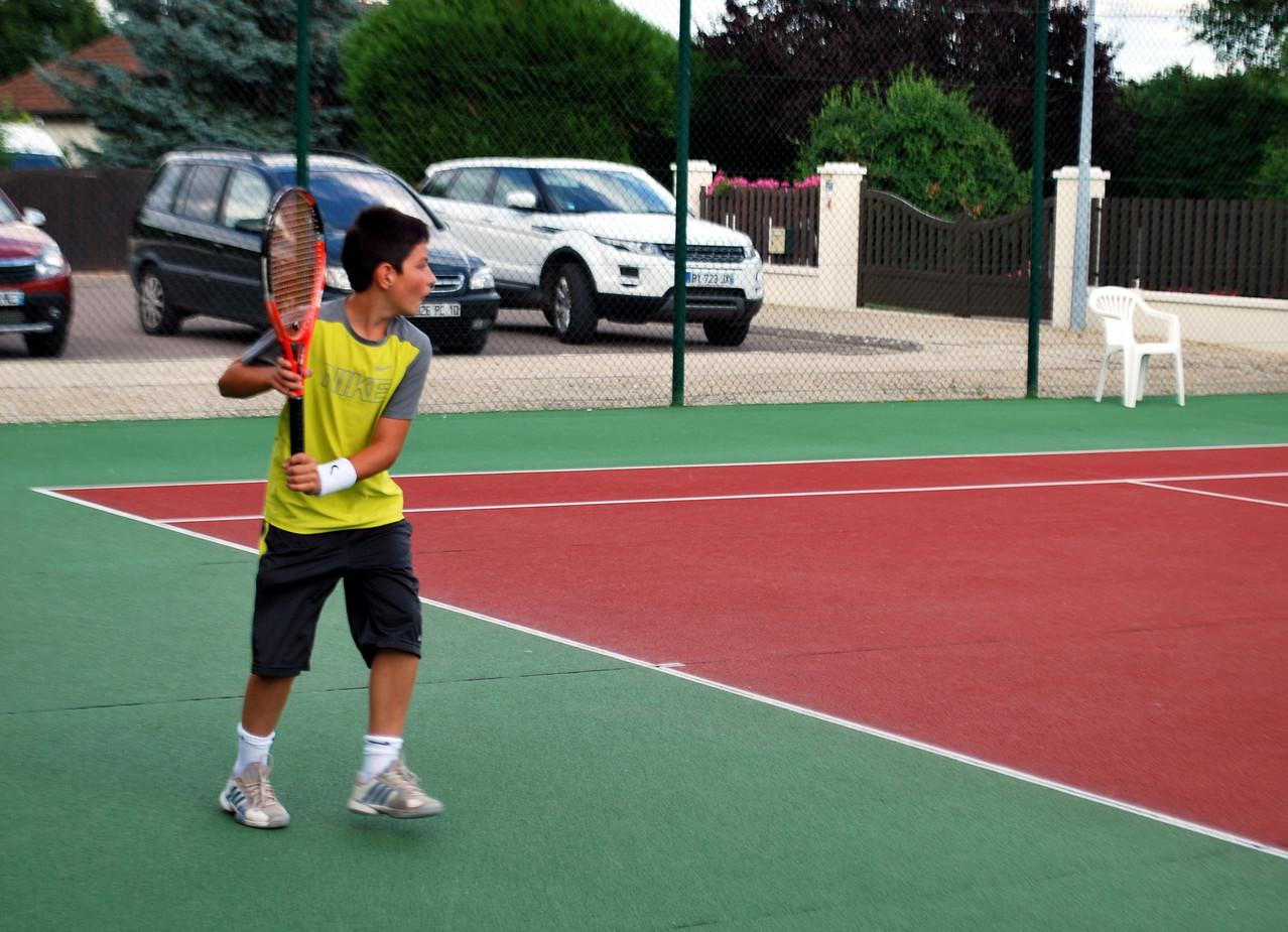 Revers, ça rime avec Federer mais Enzo a le même!