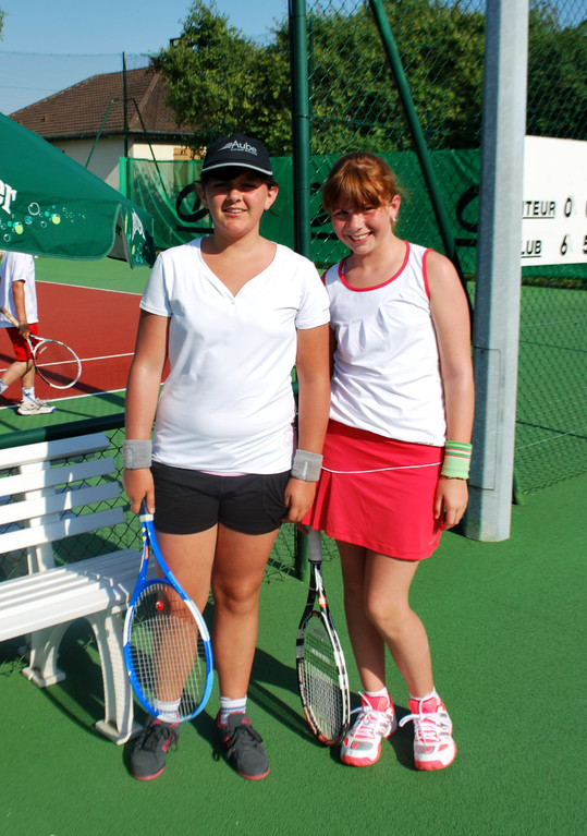 Léa Ravasio (CT Savini1) et Nina Charley (CT Savini2)