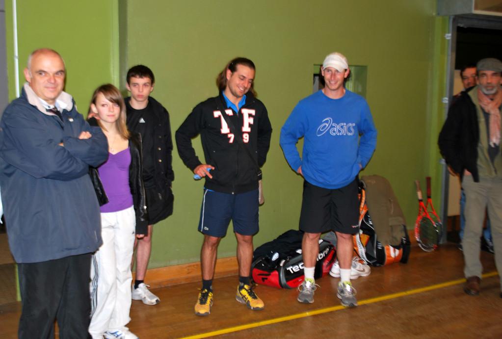 Famille Moret (Didier, Lucie et Nico) avec Jordy et Seb