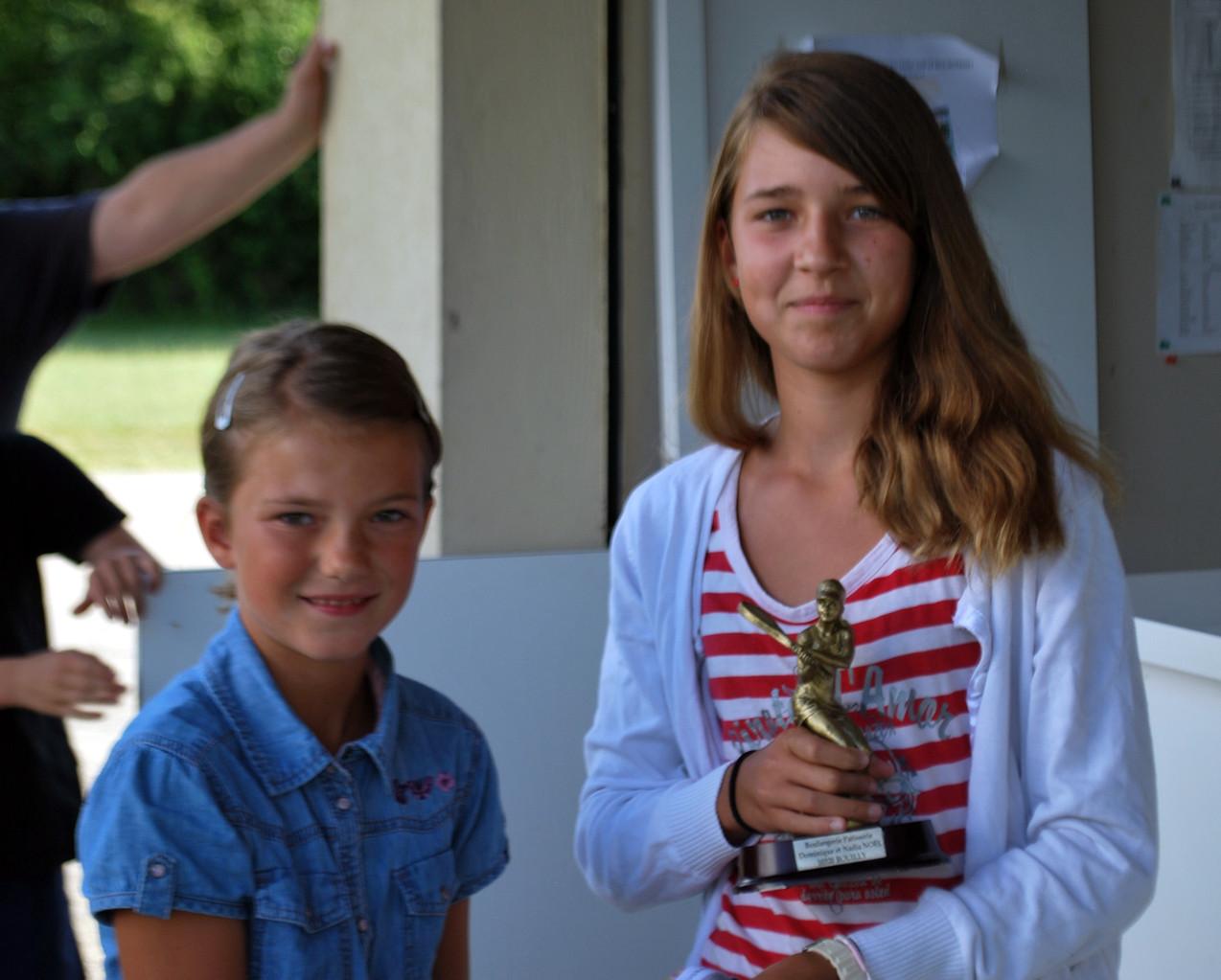 Alice Pointu la vainqueure du tournoi 2013 : allez Bouilly!!