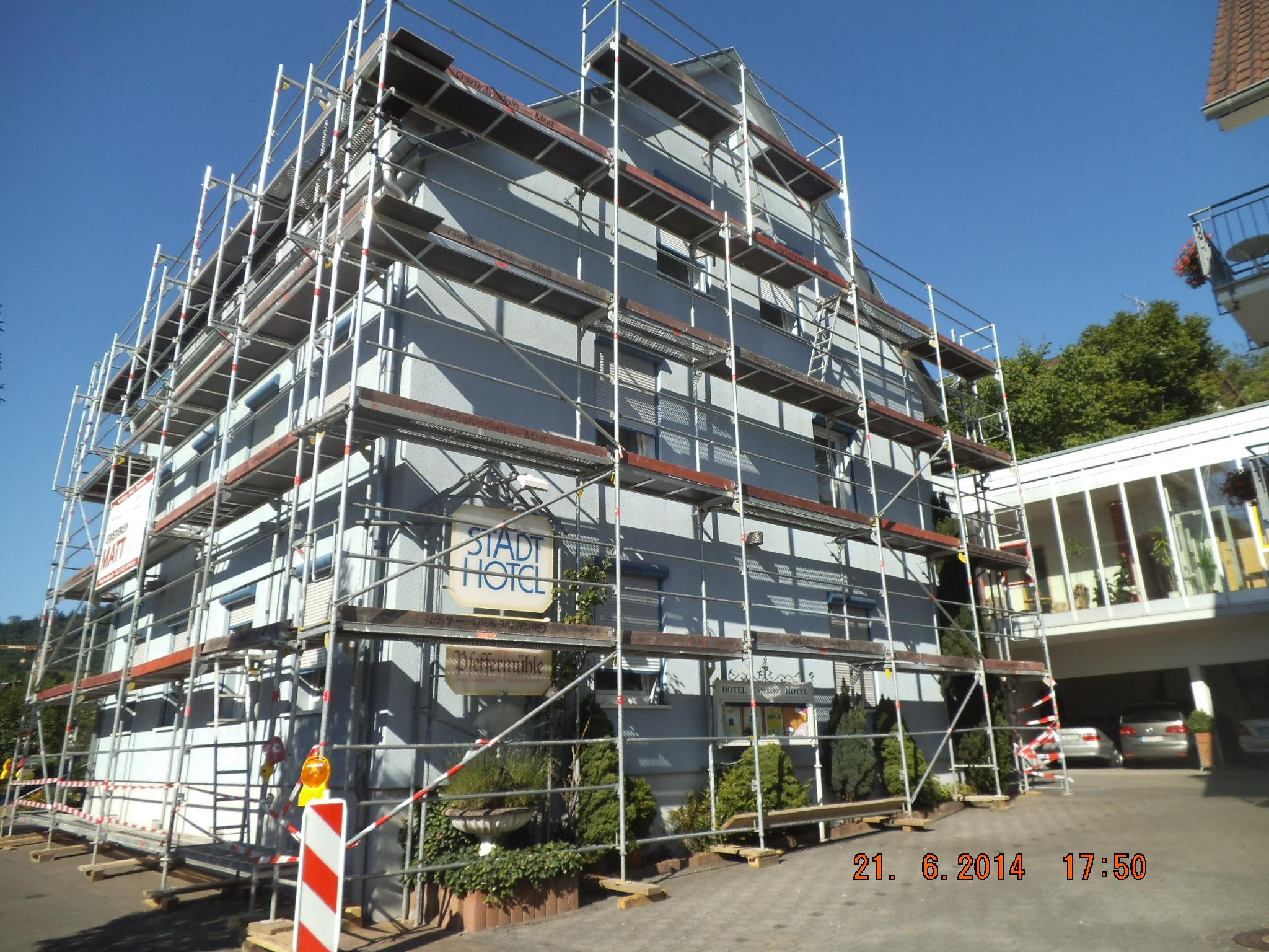Hotel-Sanierung in Genbenbach
