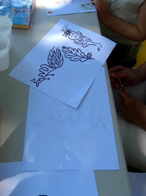 Atelier individuels avec Noël Rasendrason
