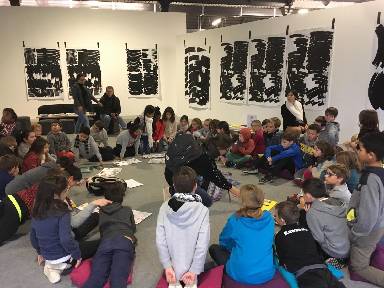 JUMELAGE Visite de l'exposition à la Halle de la Courrouze à Rennes