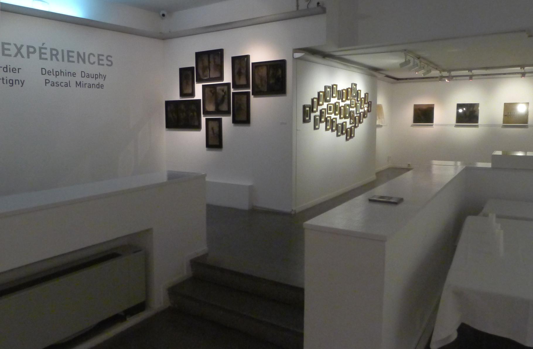 Vue des oeuvres de Pascal Mirande et Muriel Bordier. DR Israel Ariño