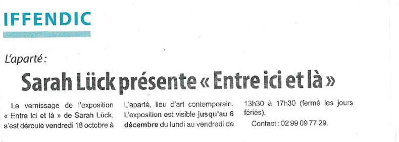 Article Hebdomadaire d'Armor
