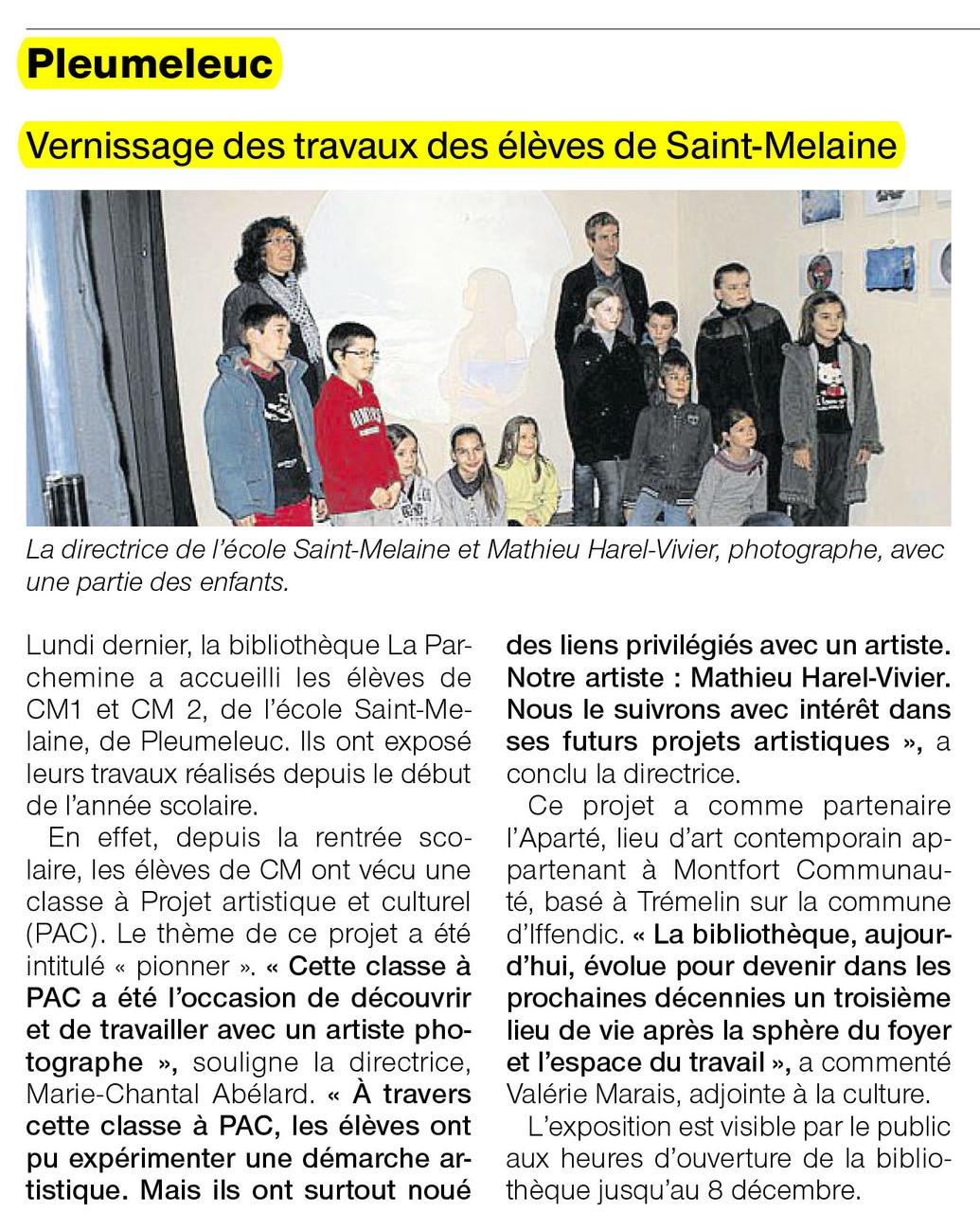 Ouest-France - 17 novembre 2012
