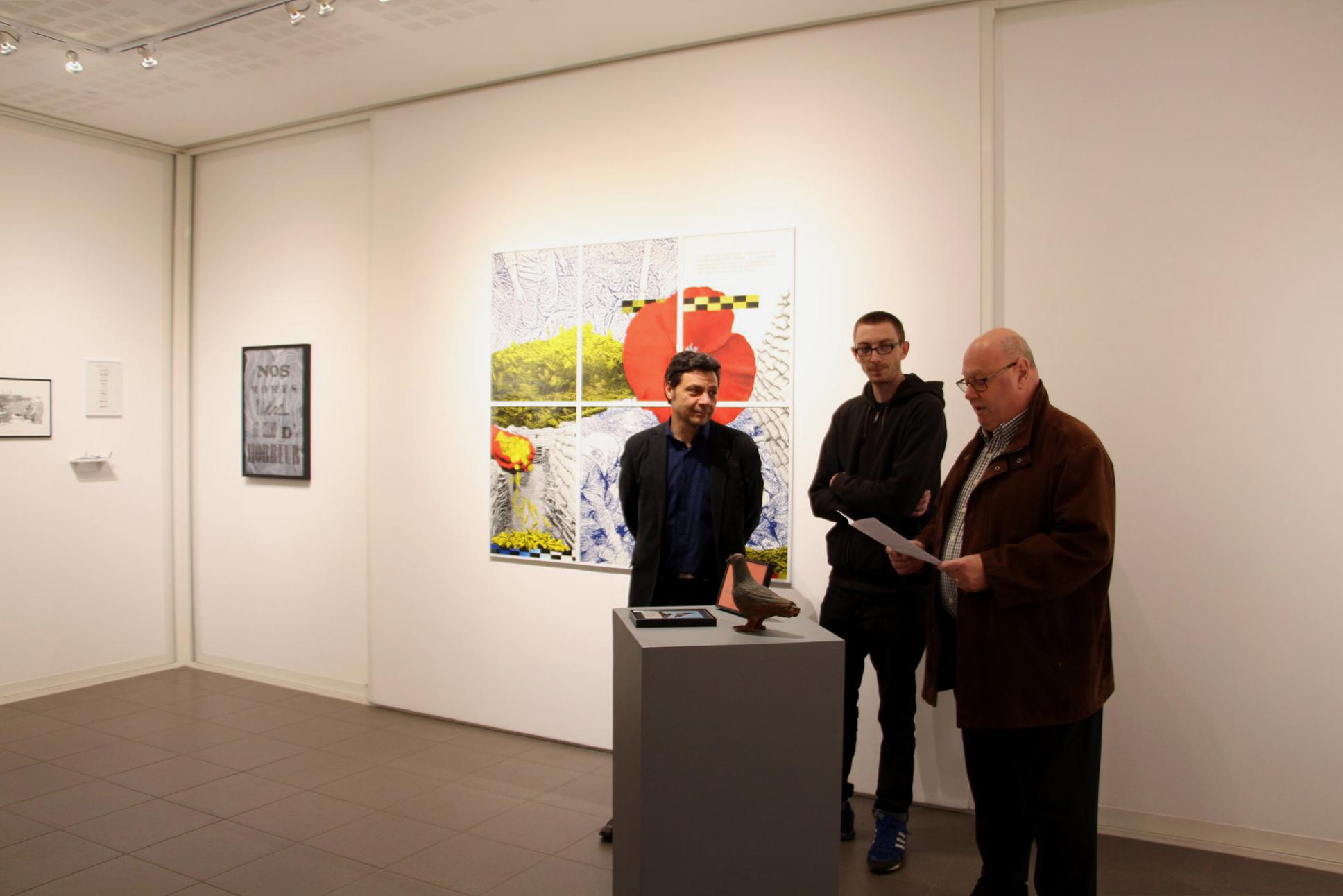 Vernissage de l'exposition Loïc Creff, Des Astres Artificiels