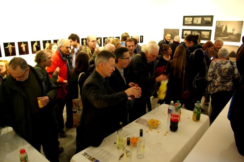 Vernissage de l'exposition Territoires d'expériences. DR Carré d'art