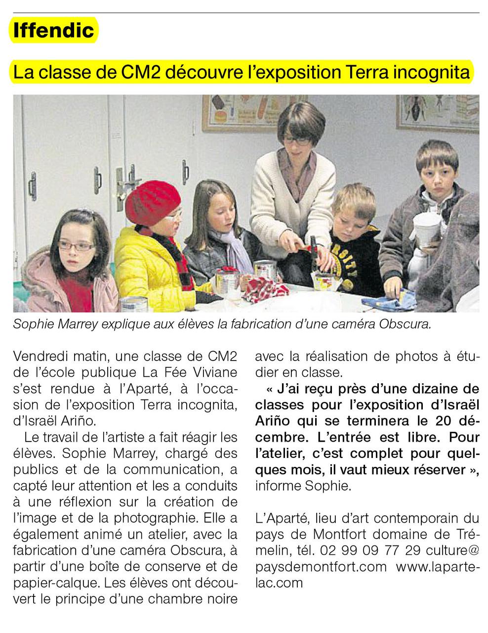 Ouest-France - 12 décembre 2012