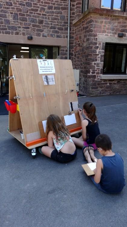 Livret pour les enfants et atelier dessin ou aquarelle - gratuit