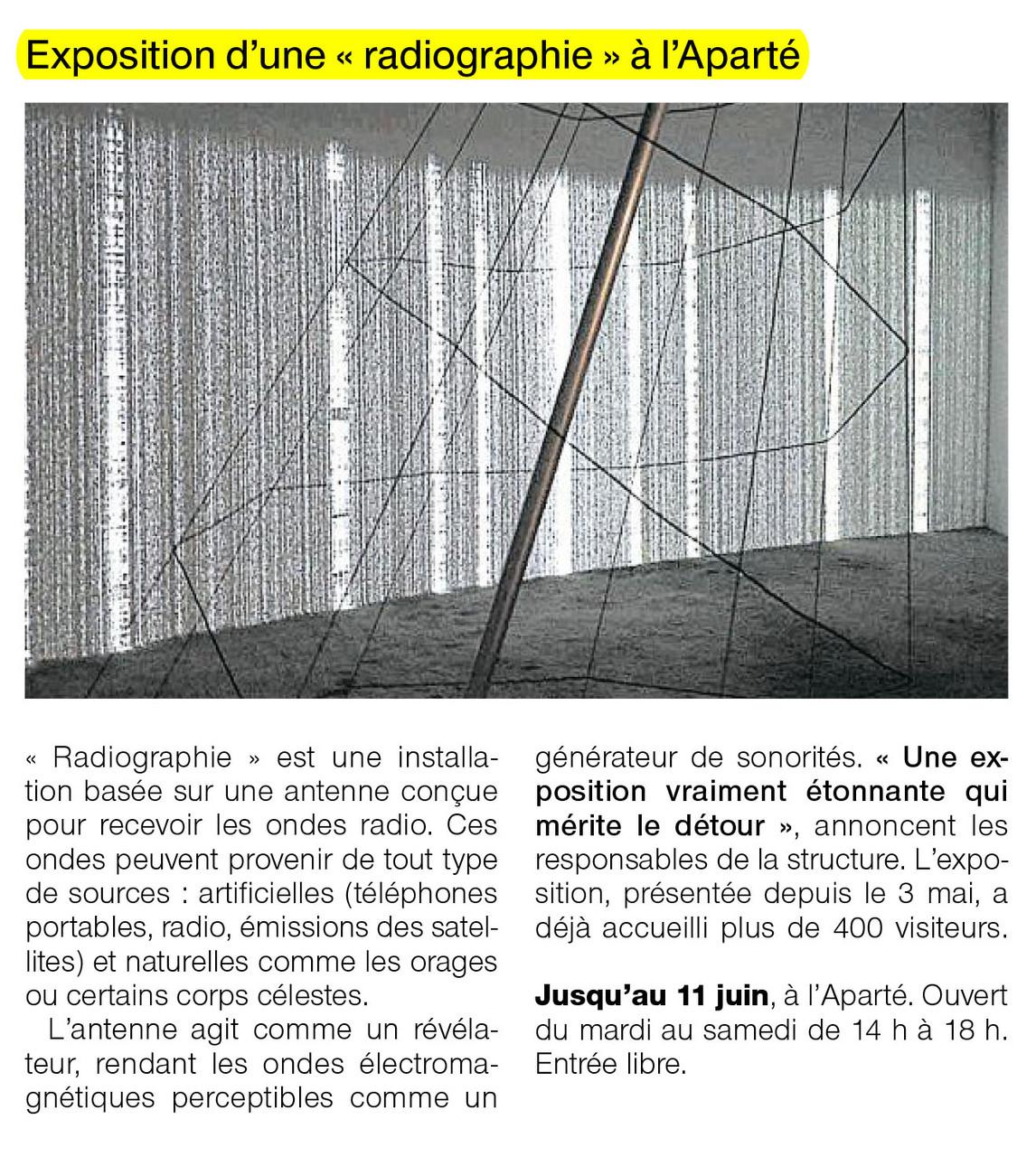 Ouest-France - 29 mai 2013