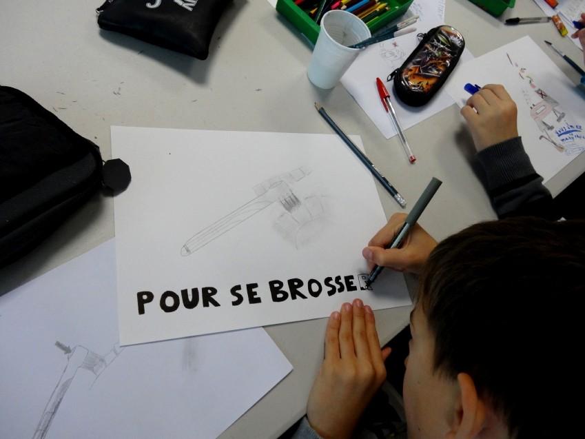 Classe de 5ème du collège Louis Guilloux, Montfort-sur-Meu