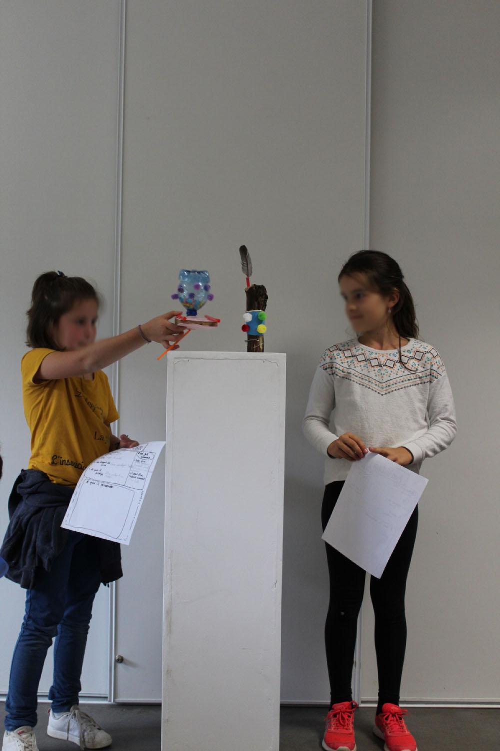 Rencontre avec une classe de CM1-CM2 de l'école La Fée Viviane d'Iffendic