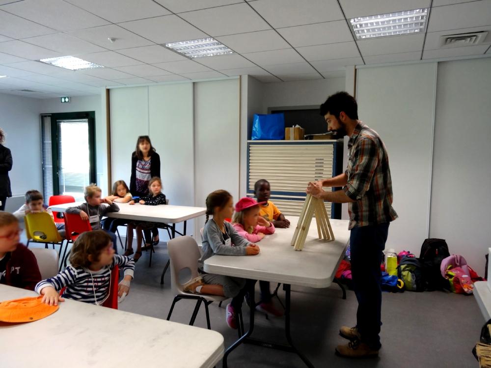 Rencontre avec Paul Duncombe - Maternelles de l'école publique La Fée Viviane, Iffendic