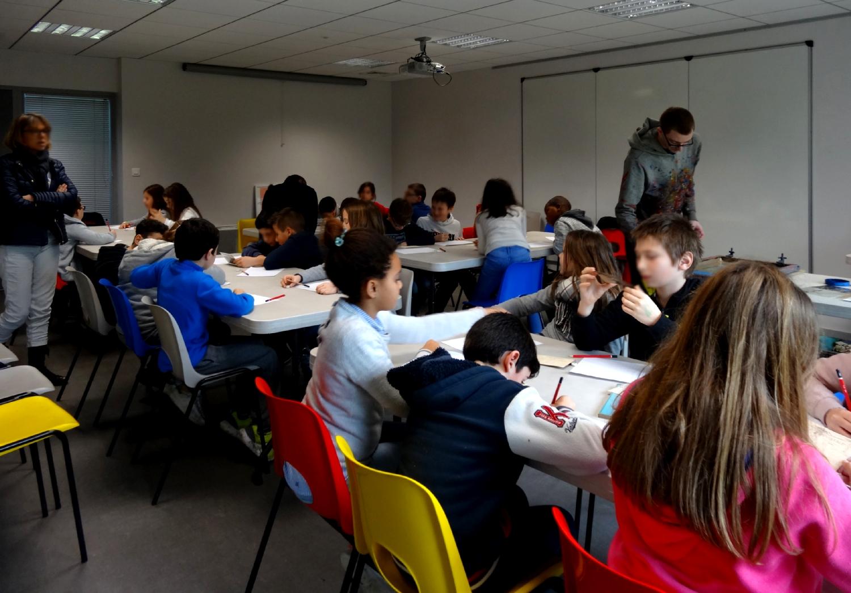 CM2 de l'école publique les Trois Rivières de Breteil