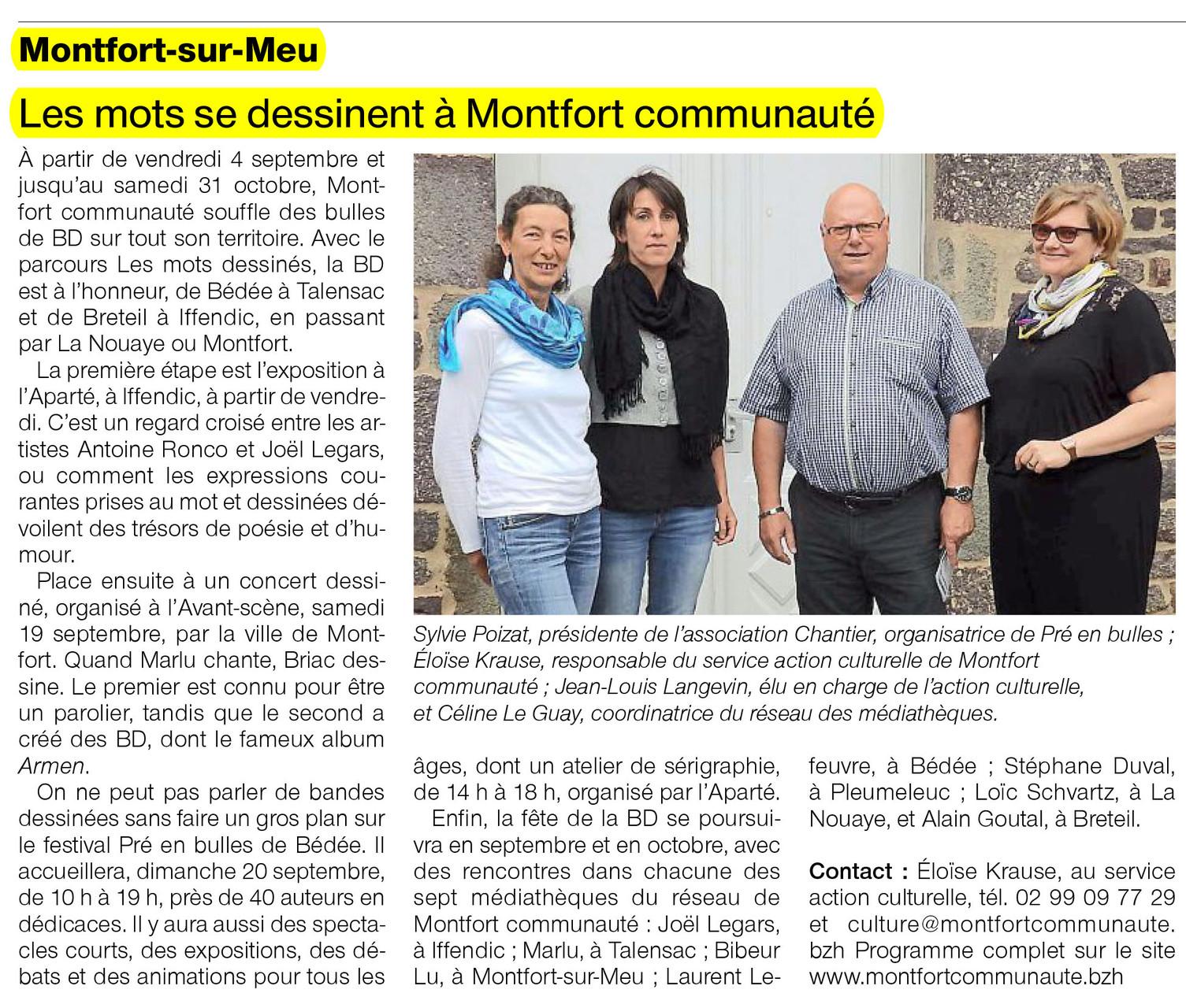 Ouest-France - 29 août 2015