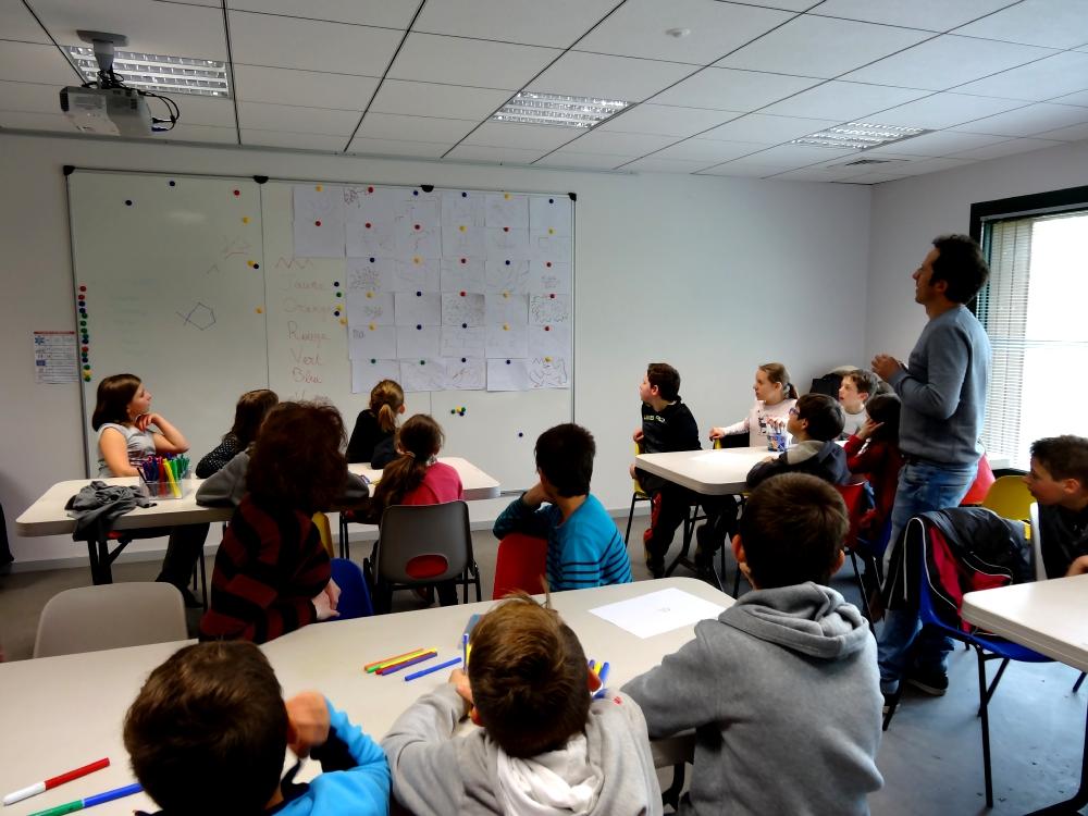CM1-CM2 école élémentaire privée Sacré Coeur Iffendic