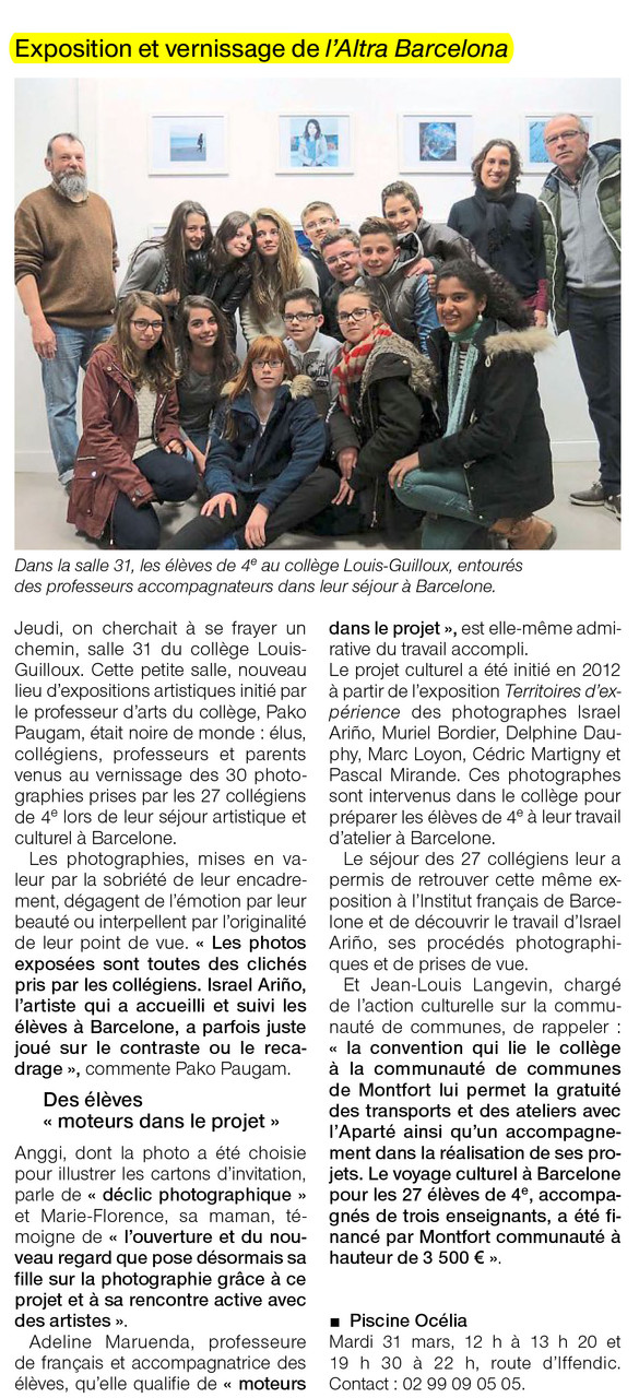 Ouest-France - 3 mars 2015