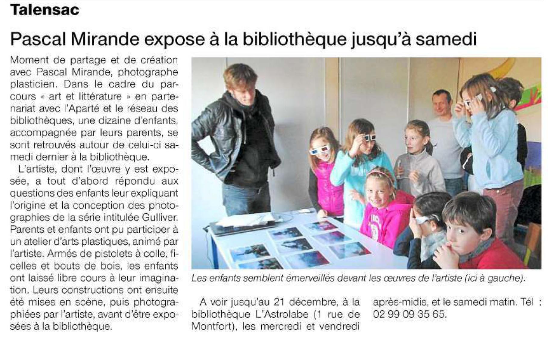Ouest-France - 14 décembre 2013