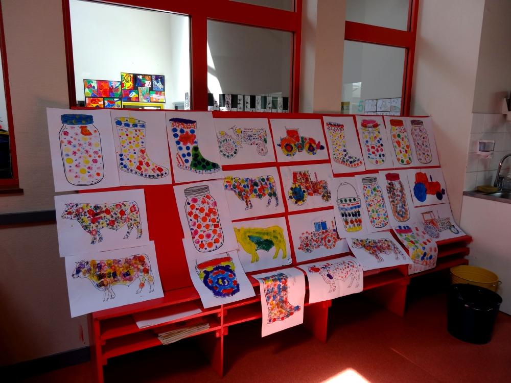 CE1-CE2 école élémentaire publique Les 3 rivières, Breteil
