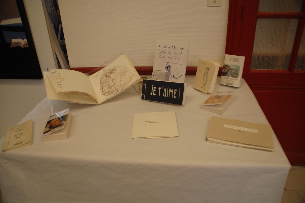 Livres d'artistes présentés à la bibliothèque d'Iffendic