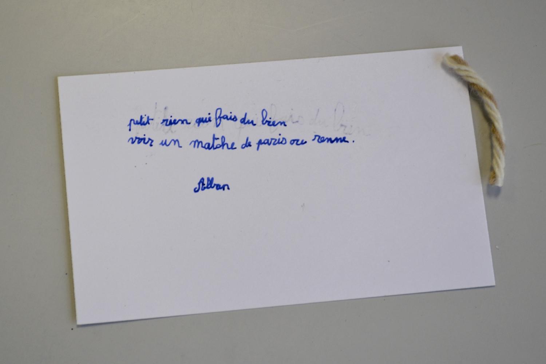 """Séance 3 : Réalisation des typons, illustration du """"petit rien"""""""