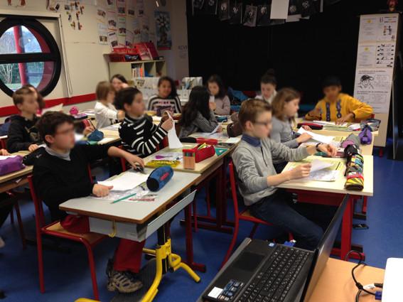 Rencontre avec Nylso - CM2 de l'école élémentaire publique du Moulin à Vent de Montfort-sur-Meu