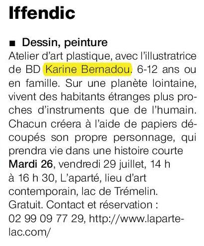 Ouest-France du 18 juillet 2016