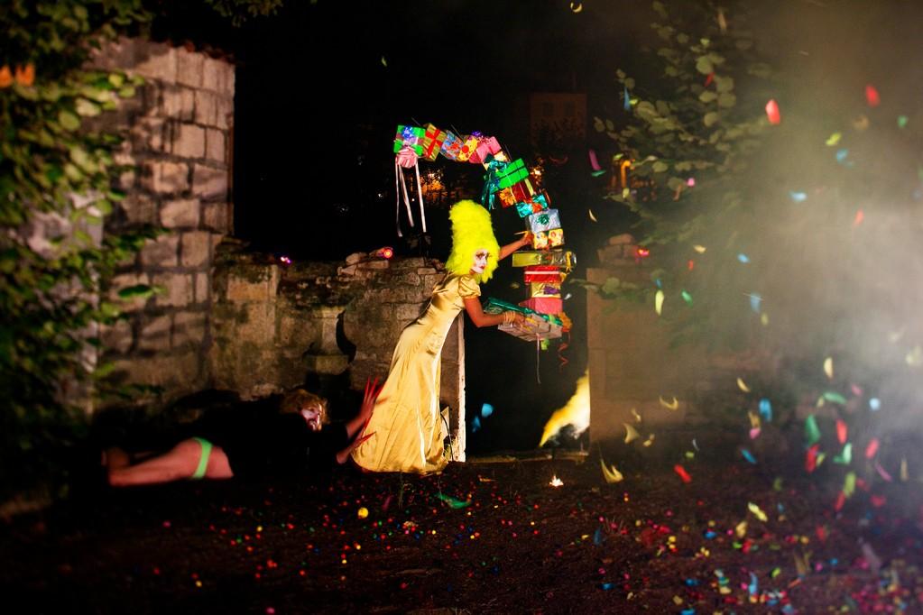 Coralie Salaün, La fêtes des songes, 2009.