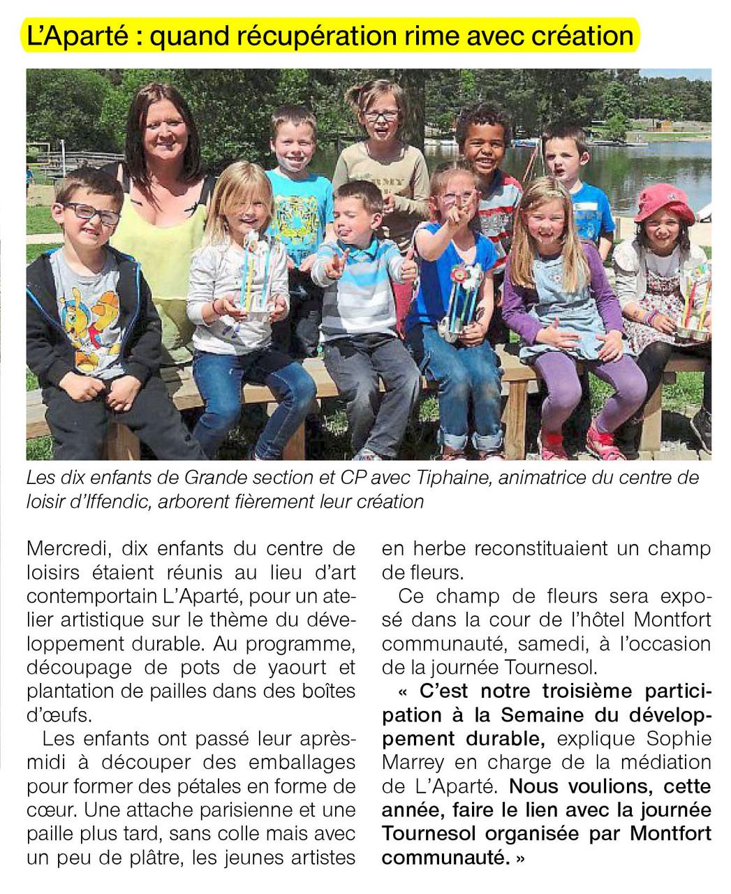 Ouest-France - 5 juin 2015