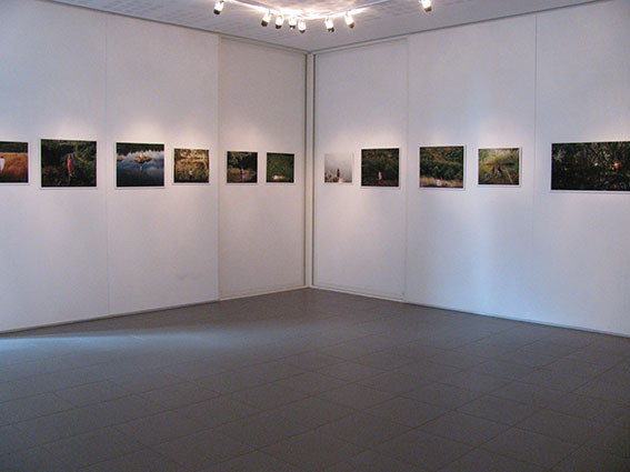 Cédric Martigny,  Métamorphoses, 2012-2013, série de photographies. Production L'aparté.