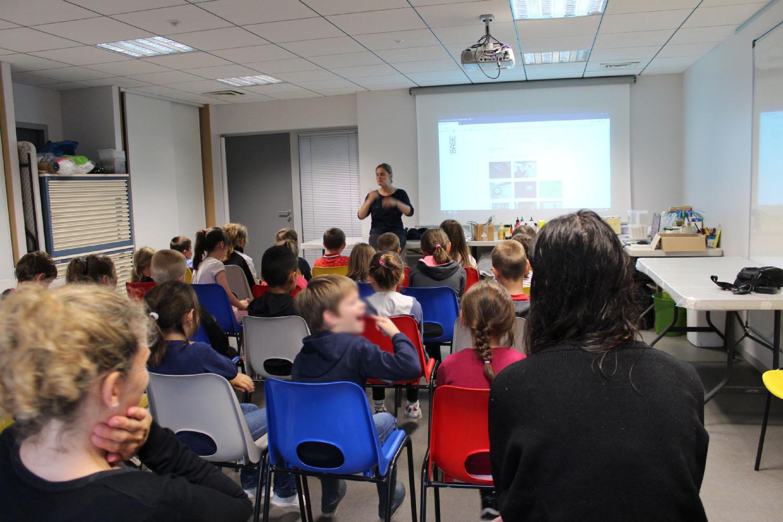 Classe de CP-CE1 de l'école privée Sacré Coeur d'Iffendic