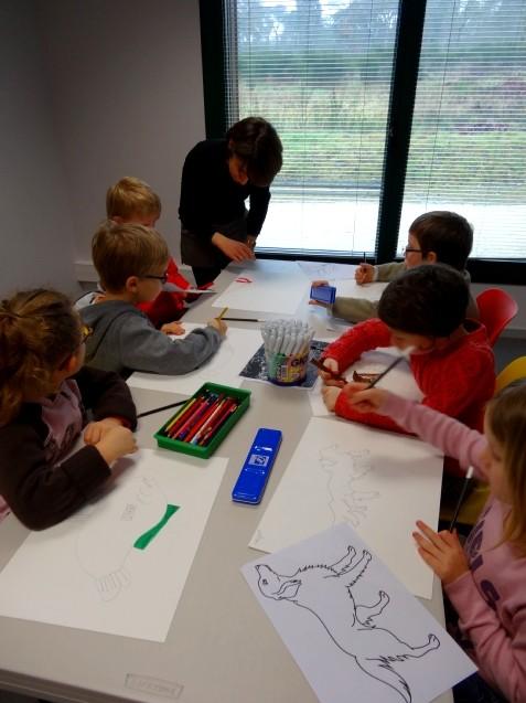 CP-CE1 école élémentaire publique Fée Viviane, Iffendic