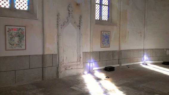 Exposition Steve Roden à la chapelle Saint-Joseph