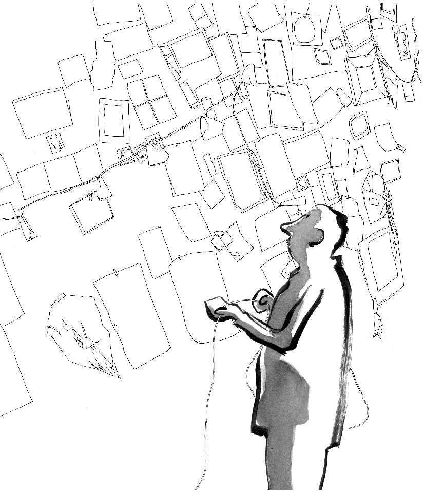 Visuel de l'exposition Les mots dessinés