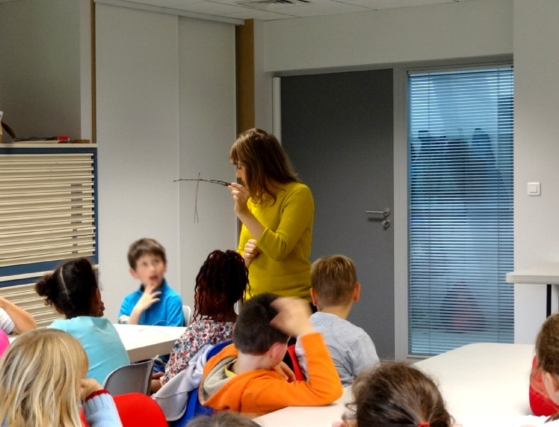 Classe de CE2 école élémentaire publique Fée Viviane Iffendic - 5 octobre